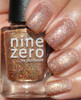 AVAILABLE AT GIRLY BITS COSMETICS www.girlybitscosmetics.com Holy Fire (Men of Letters Collection) by Nine Zero Lacquer | Swatch courtesy of @kelliegonzo
