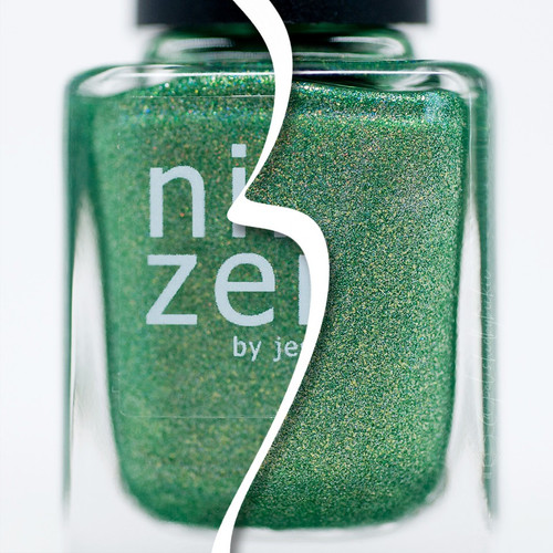 AVAILABLE AT GIRLY BITS COSMETICS www.girlybitscosmetics.com Balsam (Holiday 2016 Collection) by Nine Zero Lacquer | Photo courtesy of @polishedbybeckie