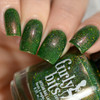 GIRLY BITS COSMETICS Grandma Got Run Over by a John Deere (December 2016 CoTM Collection) | Swatch courtesy of Delishious Nails