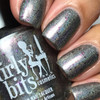 GIRLY BITS COSMETICS Steely Resolution (CoTM January 2017) | Swatch courtesy of @luvlee226