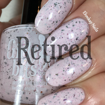 GIRLY BITS COSMETICS In One Year and Out the Other (CoTM January 2017) | Swatch courtesy of Ehmkay Nails