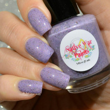 AVAILABLE AT GIRLY BITS COSMETICS www.girlybitscosmetics.com Purple Pachyderms and Rainbows (Purple Reign Collection) by Native War Paints | Swatch  provided by @del.ish.ious.nails