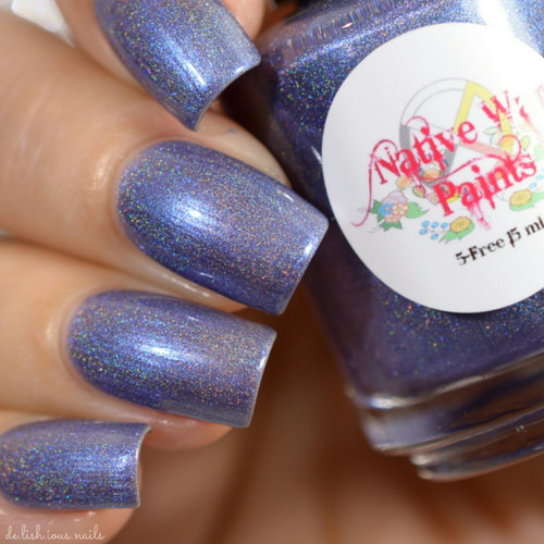 AVAILABLE AT GIRLY BITS COSMETICS www.girlybitscosmetics.com Wolves (The Next World Collection) by Native War Paints   Swatch  provided by @del.ish.ious.nails