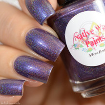 AVAILABLE AT GIRLY BITS COSMETICS www.girlybitscosmetics.com Richonne (The Next World Collection) by Native War Paints | Swatch  provided by @del.ish.ious.nails