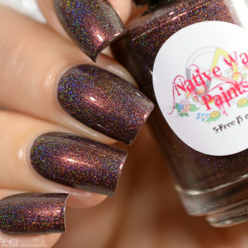 AVAILABLE AT GIRLY BITS COSMETICS www.girlybitscosmetics.com Lucille (The Next World Collection) by Native War Paints | Swatch  provided by @del.ish.ious.nails