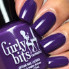 GIRLY BITS COSMETICS She's Got Grape Tips (CoTM February 2017) | Swatch courtesy of @luvlee226