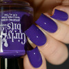 GIRLY BITS COSMETICS She's Got Grape Tips (CoTM February 2017) | Swatch courtesy of Delishious Nails