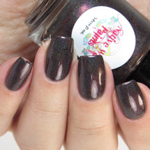 AVAILABLE AT GIRLY BITS COSMETICS www.girlybitscosmetics.com No Sanctuary (TWD Fandom - No Sanctuary Collection) by Native War Paints | Swatch provided by @gotnail