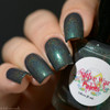 Girly Bits  Exclusive by Native War Paints Altostratus   Swatch courtesy of Delishious Nails