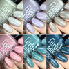 GIRLY BITS COSMETICS Warrior Goddess Collection | Swatch courtesy of Nail Experiments
