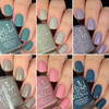 GIRLY BITS COSMETICS The Warrior Goddess Collection | Swatches courtesy of @honeybee_nails