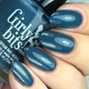GIRLY BITS COSMETICS Denim & Diamonds from the Warrior Goddess Collection   Swatch courtesy of Nail Experiments