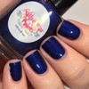 AVAILABLE AT GIRLY BITS COSMETICS www.girlybitscosmetics.com Denim on Denim (Denim - Fall 2016 Collection) by Native War Paints   Swatch  provided by @mrswhite8907