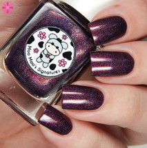 AVAILABLE AT GIRLY BITS COSMETICS www.girlybitscosmetics.com Singing a Texas Lullaby (Life of a Cowgirl Trio) by Moo Moo's Signatures | Swatch courtesy of Cosmetic Sanctuary
