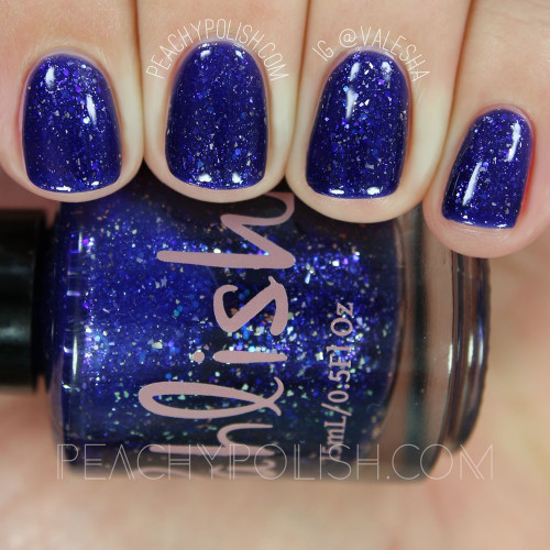 AVAILABLE AT GIRLY BITS COSMETICS www.girlybitscosmetics.com Shooting Stars (Ode to Fall II Collection) by Pahlish | Swatch  credit: Peachy Polish