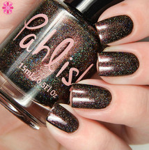 Girly Bits Cosmetics Crying Wolf - Shop Exclusive by Pahlish | Swatch courtesy of Cosmetic Sanctuary