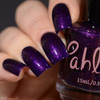 Girly Bits Cosmetics Five Points - Shop Exclusive by Pahlish | Swatch courtesy of Delishious Nails