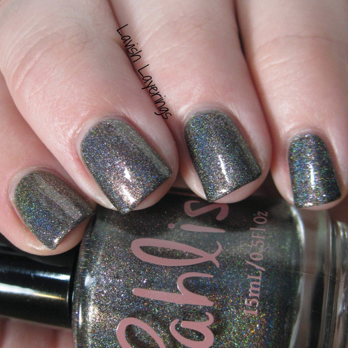 AVAILABLE AT GIRLY BITS COSMETICS www.girlybitscosmetics.com Raggedy Man Goodnight (All of Time and Space Part Two Collection) by Pahlish | Swatch  credit: Lavish Layerings