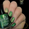 Girly Bits Cosmetics Irish You Were Beer and They're After Me Lucky Charms (CoTM March 2017) | Swatch courtesy of IG @honeybee_nails