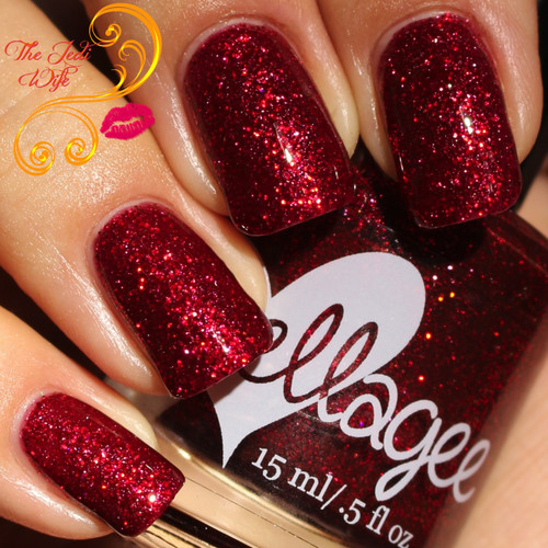 AVAILABLE AT GIRLY BITS COSMETICS www.girlybitscosmetics.com Velvet Ropes and Guitars (Born To Be Brave Collection) by Ellagee   Photo courtesy of The Jedi Wife