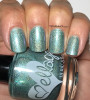 Girly Bits Cosmetics Gossamer - Shop Exclusive by Ellagee | Swatch courtesy of My Nail Polish Obsession