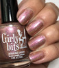 Girly Bits Cosmetics All Bronze No Brains (CoTM April 2017) | Swatch courtesy of My Nail Polish Obsession