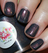AVAILABLE AT GIRLY BITS COSMETICS www.girlybitscosmetics.com Copperpot (Copper Penny Collection) by Native War Paints | Swatch courtesy of Vampy Varnish