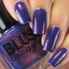 AVAILABLE AT GIRLY BITS COSMETICS www.girlybitscosmetics.com Evening Sparkler - July 2016 Color of the Month (COTM Collection) by Blush Lacquers | Photo credit: @pamperedpolishes