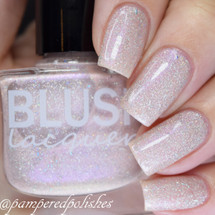 AVAILABLE AT GIRLY BITS COSMETICS www.girlybitscosmetics.com Faded Flowers (Flower Gathering Collection) by Blush Lacquers   Photo credit: @pamperedpolishes