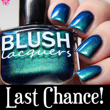 AVAILABLE AT GIRLY BITS COSMETICS www.girlybitscosmetics.com Kiss the Frog (Midnight Masquerade Collection) by Blush Lacquers   Photo credit: @cosmeticsanctuary