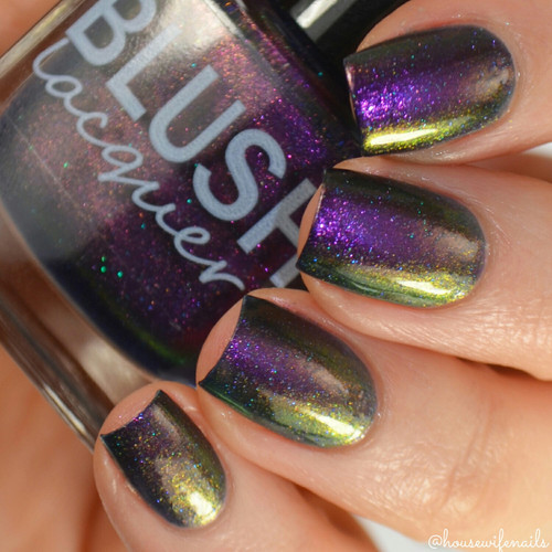 AVAILABLE AT GIRLY BITS COSMETICS www.girlybitscosmetics.com Twilight Maiden (Midnight Masquerade Collection) by Blush Lacquers | Photo credit: @housewifenails