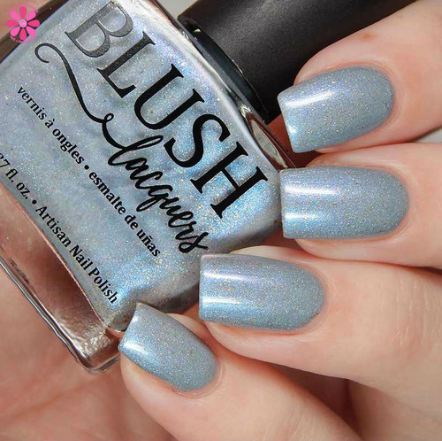 AVAILABLE AT GIRLY BITS COSMETICS www.girlybitscosmetics.com Aisle Be Waiting - Girly Bits Shop Exclusive By Blush Lacquers   Photo credit: Cosmetic Sanctuary