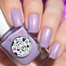 AVAILABLE AT GIRLY BITS COSMETICS Fairies' Frozen Dessert - Shop Exclusive by Moo Moo's Signatures | Swatch courtesy of annagorelova