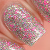 Girly Bits Cosmetics Sequins & Satin Pants (GWP) from the Sequins & Satin Pants Collection - NOT SOLD SEPARATELY | Swatch courtesy of Manicure Manifesto