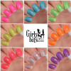 Girly Bits Cosmetics  the Sequins & Satin Pants 7 Piece Collection + GWP | Swatches courtesy of Manicure Manifesto