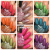 Girly Bits Cosmetics  the Sequins & Satin Pants 7 Piece Collection + GWP | Swatches courtesy of EhmKay Nails
