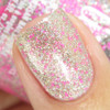 Girly Bits Cosmetics Sequins & Satin Pants (GWP) from the Sequins & Satin Pants Collection - NOT SOLD SEPARATELY | Swatch courtesy of IG @gotnail