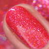 GIRLY BITS COSMETICS Brick House from the Sequins & Satin Pants Collection | Swatch courtesy of Nail Polish Obsession