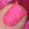 Girly Bits Cosmetics Hot Stuff from the Sequins & Satin Pants Collection | Swatch courtesy of Delishious Nails
