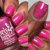 GIRLY BITS COSMETICS Hot Stuff from the Sequins & Satin Pants Collection | Swatch courtesy of IG @luvlee226