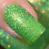 Girly Bits Cosmetics The Hustle from the Sequins & Satin Pants Collection | Swatch courtesy of Delishious Nails