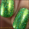 Girly Bits Cosmetics The Hustle from the Sequins & Satin Pants Collection | Swatch courtesy of @honeybee_nails