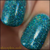 Girly Bits Cosmetics  Le Freak from the Sequins & Satin Pants Collection | Swatch courtesy of @honeybee_nails