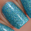 Girly Bits Cosmetics  Le Freak from the Sequins & Satin Pants Collection | Swatch courtesy of Manicure Manifesto