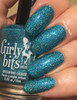 Girly Bits Cosmetics  Le Freak from the Sequins & Satin Pants Collection | Swatch courtesy of EhmKay Nails