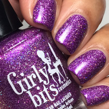 Girly Bits Cosmetics  Stayin' Alive from the Sequins & Satin Pants Collection | Swatch courtesy of IG @luvlee226