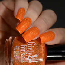 Girly Bits Cosmetics  Funky Town from the Sequins & Satin Pants Collection | Swatch courtesy of Delishious Nails