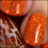 GIRLY BITS COSMETICS Funky Town from the Sequins & Satin Pants Collection | Swatch courtesy of @honeybee_nails