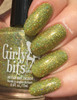 Girly Bits Cosmetics Jive Talkin' from the Sequins & Satin Pants Collection | Swatch courtesy of EhmKay Nails