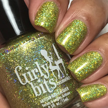 Girly Bits Cosmetics  Jive Talkin' from the Sequins & Satin Pants Collection | Swatch courtesy of IG @luvlee226